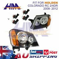 HEAD LIGHT LAMP Suits HOLDEN COLORADO RC 2/4DR 2008- 2012 LEFT AND RIGHT SIDE