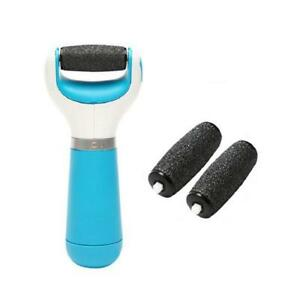 Electronic Pedicure Foot File and Callus Remover with Two Replacement Heads