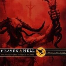 "HEAVEN & HELL ""THE DEVIL YOU KNOW"" CD NEU"