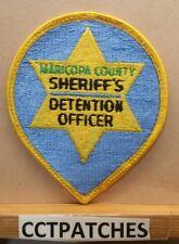 MARICOPA COUNTY, ARIZONA SHERIFF DETENTION OFFICER CORRECTIONS (POLICE) PATCH AZ