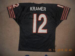 Chicago Bears Football Jersey #12 Erik Kramer QB Vintage Made in USA    Team NFL