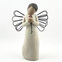 DEMDACO WILLOW TREE LOVING ANGEL RETIRED SUSAN LORDI FIGURINE LOVE PURE & SIMPLE