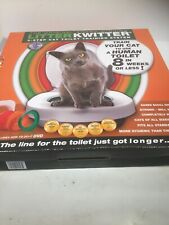 LITTER KWITTER Cat Toilet Training System No DVD Has Instruction Manual in Box