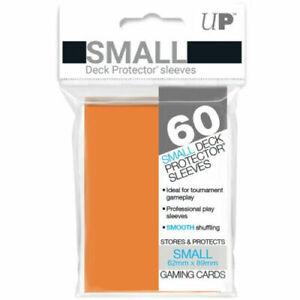 60 Ultra Pro Orange Deck Protectors Trading Card Gaming Sleeves.