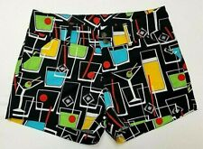 """Loudmouth Ladies Golf Shorts Multicolor Size Small 30"""" Waist"""