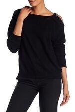 NWOT Vince Cold Shoulder Cashmere Tunic In Black Size L Retail $325