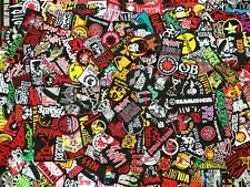 200 NEW RANDOM MUSIC PUNK//ROCK//METAL Sew//Iron On WHOLESALE DEALERS SELL PATCHES