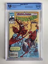 Spider-Man #37 CBCS CGC 9.8 White Pages Maximum Carnage! Shriek Venom