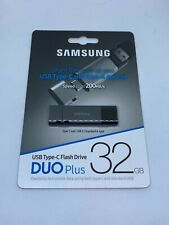 NEW Samsung Duo Plus 32GB - 200MB/s USB 3.1 Flash Drive MUF-32DB/AM