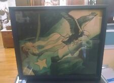 Rare Find Captain America Marvel 1989 Promo light sign Batman dealers only  L1
