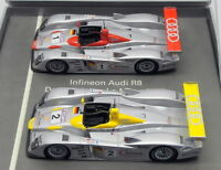Minichamps 1/43 Scale Model Car 01219 - Audi Infineon 2 Piece Set - Le Mans 2001