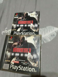 Resident Evil 3: Nemesis (PlayStation 1, 1999) ps1 psx, Pal España ESP Completo