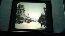VINTAGE COLLECTIBLE GLASS PICTURE Negative PRINCIPAL STEER MONTEVIDEO URGUAY