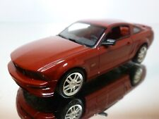 MINICHAMPS FORD MUSTANG GT 2005 - RED METALLIC 1:43 - EXCELLENT - 21/39
