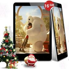 7'' 16GB A33 Allwinner Quad Core Dual Camera Android Tablet WIFI Pad EU Black