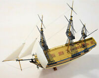 REVELL 05404 HMS Bounty Segelschiff Sailing Ship 1:110 gebaut mit OVP + Zubehör