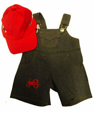 Farmer Boy Clothing Outfit by Stufflers – Will fit on a Build a bear