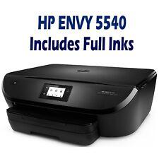 HP ENVY 5540 / 5544 All-in-One Wireless Inkjet Printer Wi-Fi + Full Inks