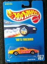 Hot Wheels Blue Card #167 1982 Pontiac Firebird T-Top Orange [109]