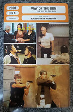 US Cult Action Movie The Way Of The Gun Ryan Phillippe French Film Trade Card