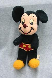 "Mickey Mouse Plush Toy Doll Vintage California Stuffed Toys Walt Disney 16"""