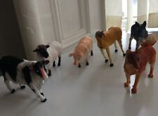 * 6 x BIG TOY MODEL ACTION FIGURES ANIMALS ON THE FARM, TOYS NEW * FREE PP