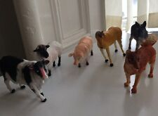 6 x BIG TOY MODEL ACTION FIGURES ANIMALS ON THE FARM, TOYS NEW £7.99 FREE PP