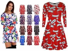 Christmas Casual Plus Size Dresses for Women