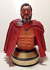 300 MOVIE SPARTAN KING LEONIDAS Resin Bust Statue Figure by NECA & WARNER BROS