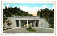 1926 Tunnel and Entrance to Cadwalader Park, Trenton, NJ Postcard