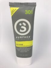SURFACE SUNSCREEN ACTIVE LOTION 2.5oz. SPF30 - DEVELOPED FOR ATHLETES