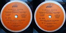 CAMILO SESTO AMOR MIO QUE ME HAS HECHO (5:48/3:45 VERS) 1991 PROMO CHILEAN PRESS