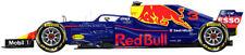 2018  Daniel Ricciardo Red Bull RB14 ltd ed. 3 / 250 signed & numbered by artist