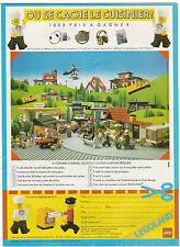 Publicité de Presse Lego concours  1983  french ad