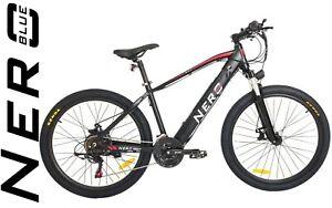 """Nero Electric Bike 26"""" Mountain E-Bike Aluminium 250W E-MTB 36V Front Suspension"""