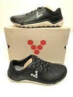VivoBarefoot Mens Hybrid M Golf Shoes Black Leather EU 41 US 8 NEW in Box $170