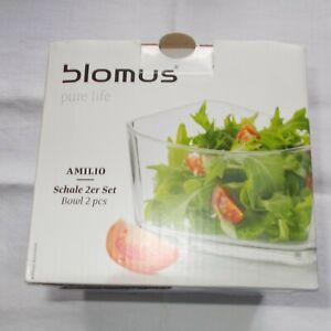 Salat- / Dessertschalen, Kristallglas, 2 tlg.