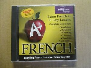 Transparent Language French CD-ROM