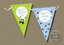 Birthday, Child Animals Party Buntings