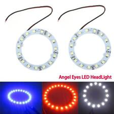 LED Angel Eyes Halo Rings Headlights 6000K 1210 (3528) SMD Chip 12V Kits New
