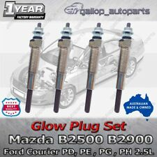Ford Glow Plugs PD PE PG PH Courier Mazda B2500 WL-T Turbo Diesel 4cyl Y-701J