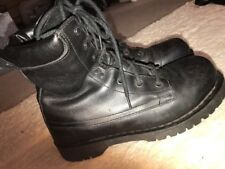 Rare Dr Marten Warner US military Paratrooper style UK 8 Eu 42 7 eyelet boots