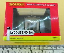 "Hornby Lyddle End  ref:N8777 - N gauge ""Public drinking fountain"""