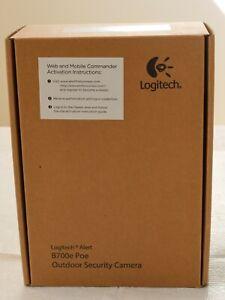 ⭐ NEW IN BOX ⭐ Logitech Alert B700e / 700e PoE / 750e Outdoor Security Camera