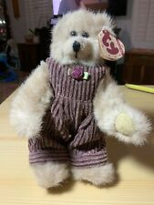 TY BEANIE ATTIC TREASURES ABBY BEAR 8 INCH DOLL