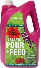 Ecofective Organic Pour and Feed, 4 Litres