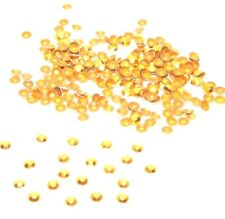 1,440+-Dark Gold-Faceted HotFix/Iron on Metal Studs-SS20-4.81mm(SS044)Bulk-New