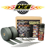 DEI 010110 Exhaust Header Wrap Complete Kit w/ Black Silicone Spray & Zip Ties