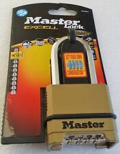 MASTER LOCK EXCELL 4 DIGIT Combination 56MM PADLOCK M175DLH LEVEL 9 SECURITY