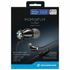 Sennheiser Momentum In-Ear écouteurs M2 IEG / NOIR Black CHROME  Android Samsung